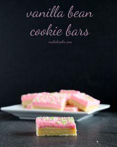 Vanilla Bean Cookie Bars