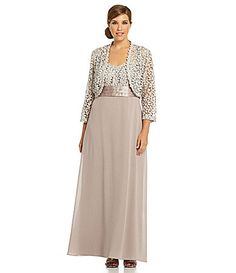 R And M Richards Plus Size Mother Of The Bride Dresses - Amore ...