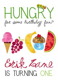 An idea theme for Jack's first birthday