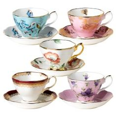 cups and saucers:)