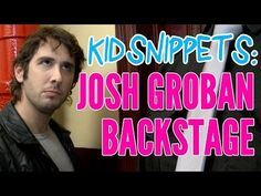 "▶ Kid Snippets: ""Josh Groban Backstage"" (Imagined by Kids) - #YouTube http://youtubefunnyvideoshd.blogspot.com/"