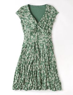 Seville Dress-loving the green and flowers