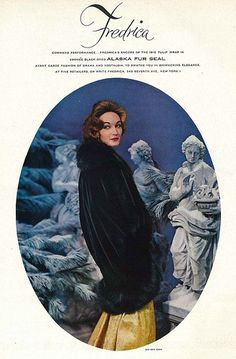 Evelyn Tripp, December Vogue 1956