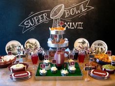 Super Bowl Party Food Ideas www.spaceshipsandlaserbeams.com