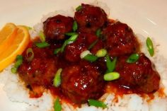 Your slow cooker is the perfect tool for making delicious meatballs and this easy slow cooker meatballs recipe for Slow Cooked Asian Meatballs with Orange Sauce is a unique treat!