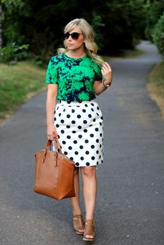 Pattern Mixing pt. 3 // 51 Cute Work Outfits to Wear this Summer