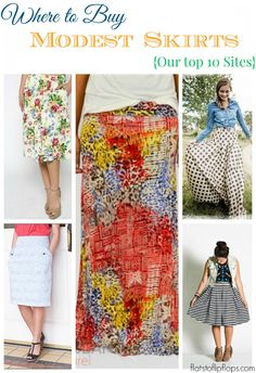 flatstoflipflops.com Where to Buy Modest Skirts{Our top 10 sites} A must PIN!!!