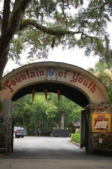 cities in florida, fountains, fountain of youth, florida roadtrip, travel