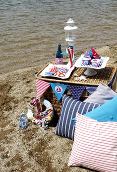 seaside nautical theme