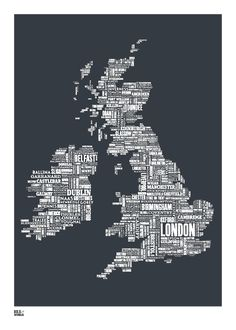 UK/Ireland in words