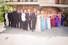 prom group picture
