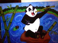 Pandamania painting