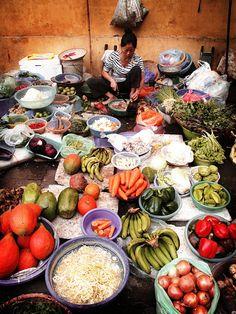 Hanoi market. #hanoi#market#food
