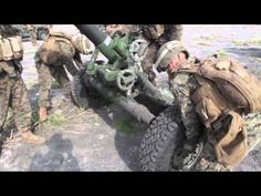 Marines + 120mm mortar system = BOOM!