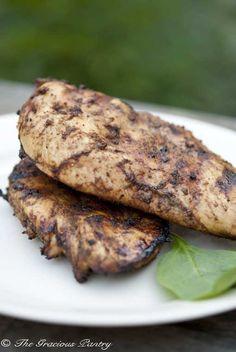 BBQ Tandoori Chicken #CleanEating