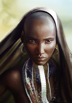 — Arbore Tribe girl by eilidh on deviantART