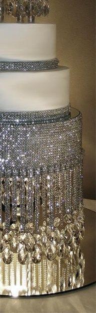 Wow! crystals, cake bling, dream cake, sparkl cake, renew idea, beauti crystal, wedding cakes, crystal wedding, bling wedding