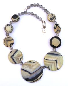 Necklace by Tory Hughes. Made from polymer clay.