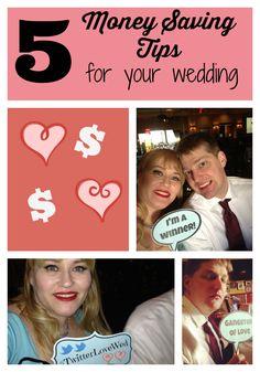 Five money saving tips for #weddings (and sanity)