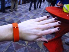Track your steps, sleep with Fitbit Flex wristband #CES