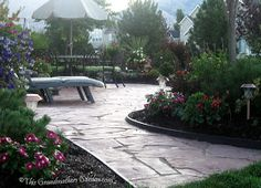 This Grandmother's Garden: You Can Build a Flagstone Patio flagstone walkway tutorial, flagston patio, dreams, diy tutorial, flagston walkway, gardens, patios, grandmoth garden, walkway landscap