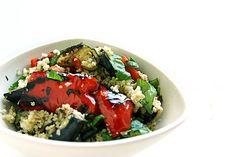 Grilled Couscous Salad