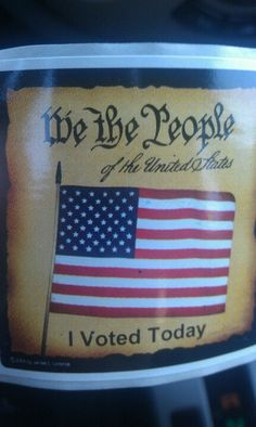 Just voted