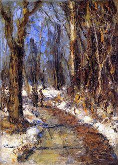 Winter Landscape - Christian Rohlfs - 1900