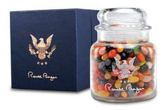 christma gift, jelly beans, ronald reagan