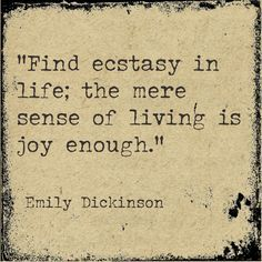 the inspiration for emily dickensons poetry in american literature The poetry of emily dickinson we explore dickinson's engagement with the ideas of inspiration and and twentieth-century british and american literature.