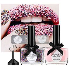 Ciaté Caviar manicure™. Formulated WITHOUT:  - Parabens  - Sulfates  - Synthetic Fragrances  - Synthetic Dyes  - Petrochemicals  - Phthalates  - GMOs  - Triclosan ~ $25