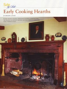Early American Writings: Colonial Cooking Hearths