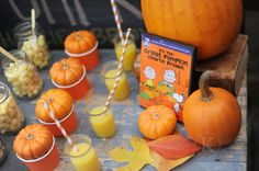 its a great pumpkin charlie brown party theme