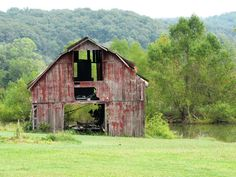 something so cool about old barns.