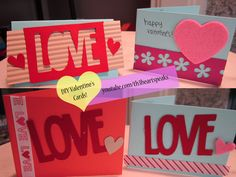 DIY Valentine's Cards #diy #valentines #vday #cards #crafts