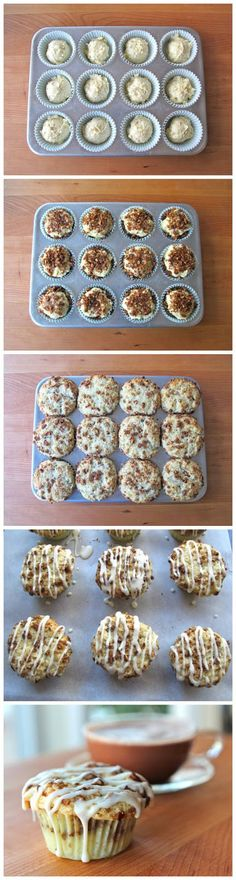 Coffee Cake Cupcakes - Top Food Center food center, coffee cakes, muffin tops, cupcake recipes, top food, cake cupcak, novak novak, breakfast foods recipes, coffe cake