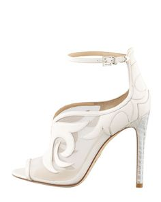 APPARENTLY TRANSPARENT:  B Brian Atwood explores mesh transparency - with a cowgirl twist