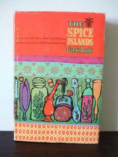 The Spice Islands Vintage Cookbook by velvetandshag on Etsy, $9.00