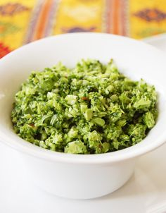 raw broccoli salad.