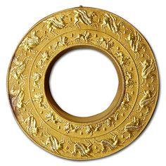ancient jewelri, gold pegasusand, chimaira, etruscan jewelri, ancient treasur, ancient gold, reel, italy, etruscan gold