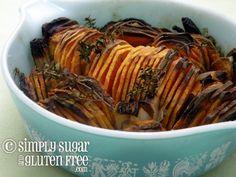 Crispy Sweet Potatoes - gluten-free and sugar-free
