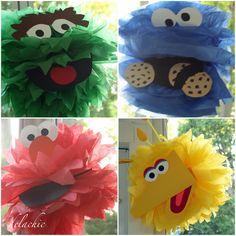 Sesame Street Decorations & Favors