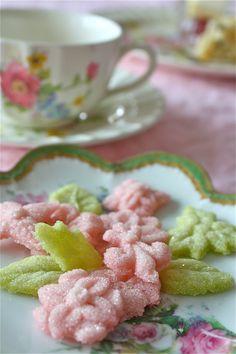 Tea Sugar-Flower and leaf-shaped