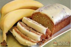 Receita de Torta de banana integral - Comida e Receitas