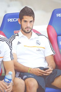 Me tiene embobada :p isco from Real Madrid!