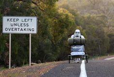 Stormtrooper Walks Across Australia | So Bad So Good