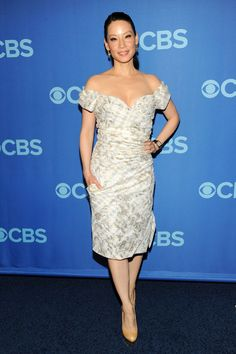 Lucy Liu - Celebs Attend the CBS Upfront Event in NYC