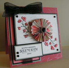 Me, My Stamps and I: Sweet Serendipity