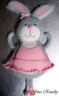 Ballet Rabbit cake