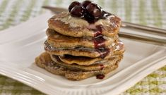 Buckwheat Buttermilk Pancakes with Lemon Butter and Blueberry Compote  - Buckwheat Recipes | Anson Mills - Artisan Mill Goods